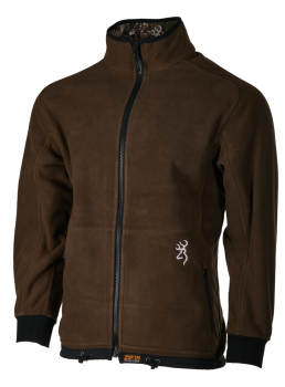Browning Powerfleece Rev Zip`in Wendejacke