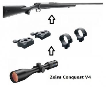 JAGD & FREIZEIT - Mauser Waffenpakete