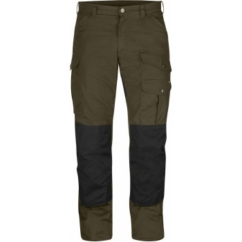 Fjällräven Barents Pro Winter Trousers Dark Olive/Black - Hose Herren