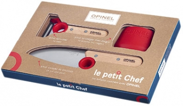 Opinel Le petit Chef / Kinder Set 3-teilig