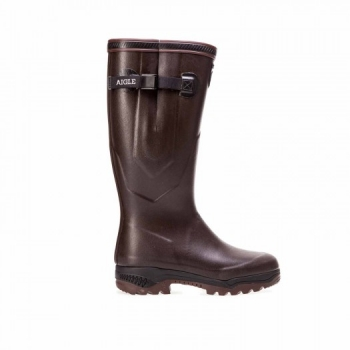 Aigle Parcours 2 Iso Gummistiefel - Farbe: braun