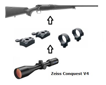 Jagd freizeit sauer classic xt zeiss conquest v