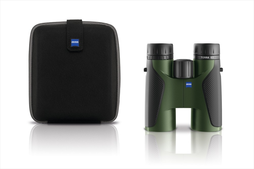 Zeiss Entfernungsmesser Xxl : Jagd freizeit zeiss terra ed fernglas schwarz grün